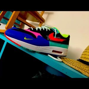 Nike air max 1's.  Size 12 like new  condition